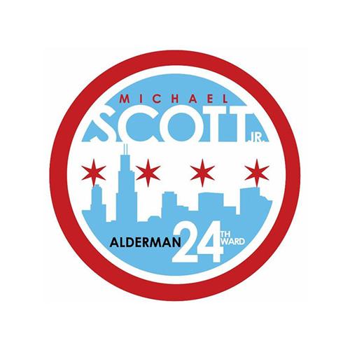 Alderman Michael Scott Logo